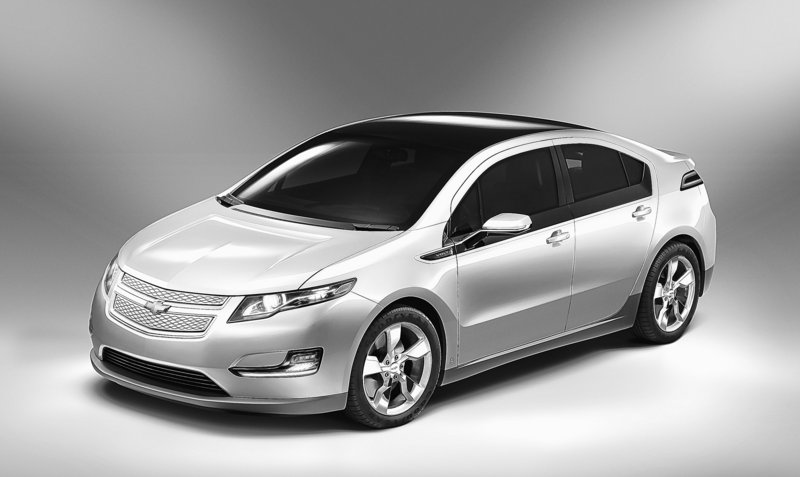 The Chevrolet Volt achieves a 230 mpg rating based on a test that combines the gas-free electric miles with a short gas-powered distance. Longer distances reduce the rating.