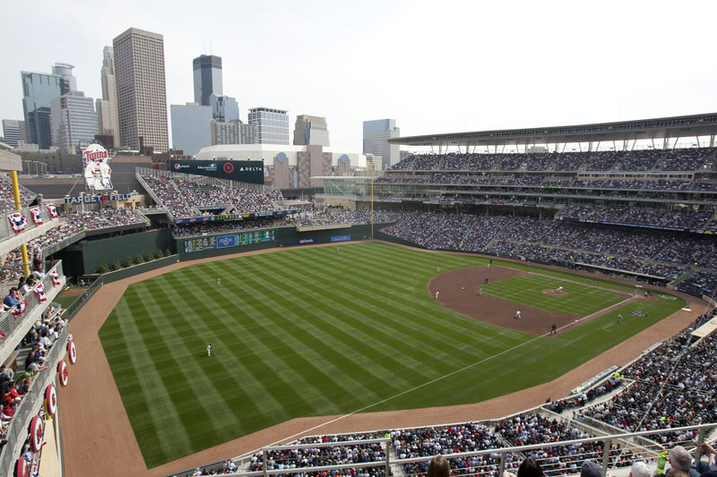 No dingy dome, not this cozy new ballpark that's now home to the Twins. And the first regular-season game at Target Field was a huge success, with blue skies, comfy temps for Minneapolis, and a win – 5-2 over the Red Sox.