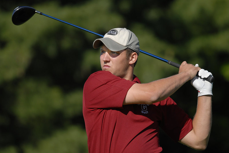 David Gushee, a three-time schoolboy state champion from Gorham, has had little trouble adjusting to college golf and has become the No. 1 player for Siena.