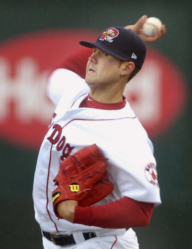 Casey Kelly, a first-round draft pick of the Red Sox in 2008, threw 29 strikes among his 39 pitches Sunday. He allowed two singles and retired his last seven batters.