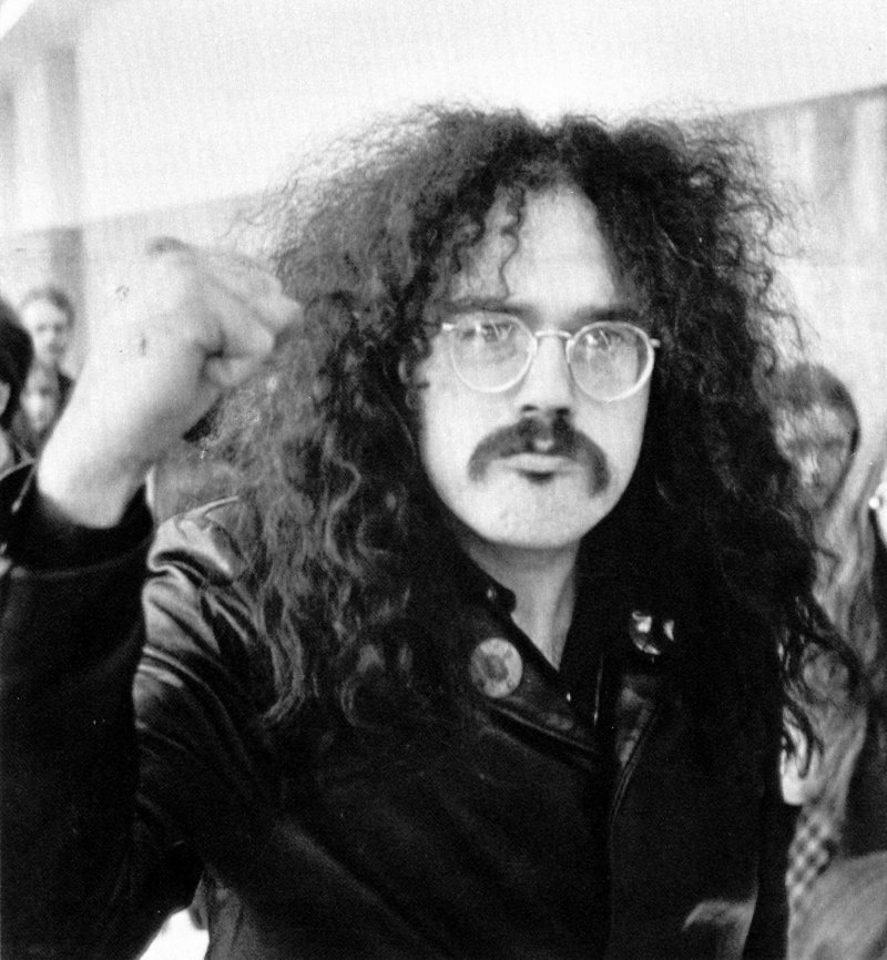John Sinclair, former leader of the White Panthers, is shown in a 1971 photo. He now considers himself more of a cultural radical – broadcaster, poet, writer and musician.