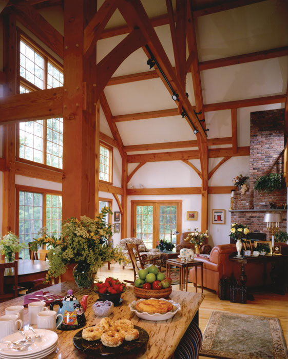 Building a timber frame home is now easier.