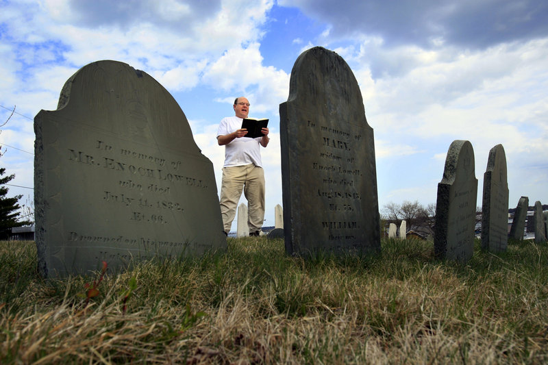 Walter Skold, reading Longfellow at Eastern Cemetery, was inspired to establish a holiday when he discovered that while communities have readings at the gravesites of famous poets such as Edgar Allan Poe, Walt Whitman, Emily Dickinson and Anne Sexton, lesser known poets are largely overlooked.