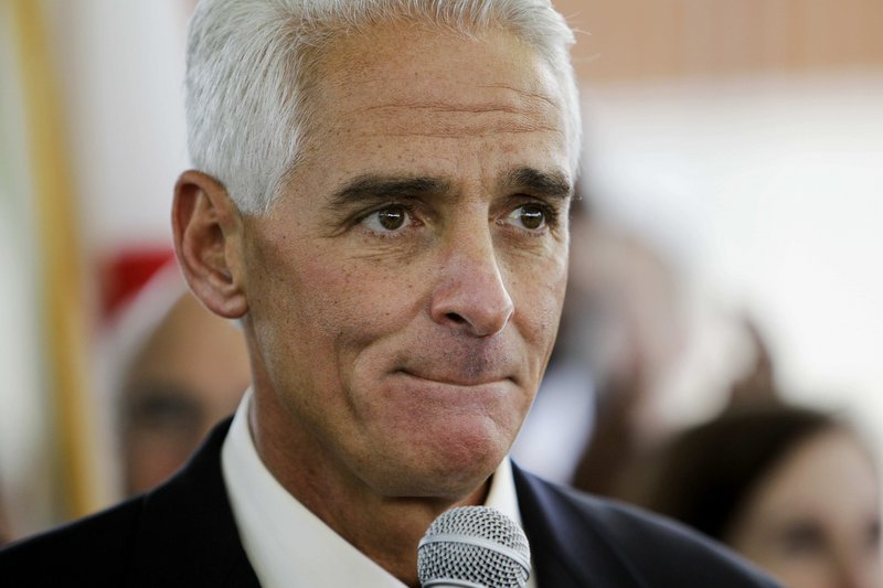Florida Gov. Charlie Crist favors resuming diplomatic relations with Cuba.