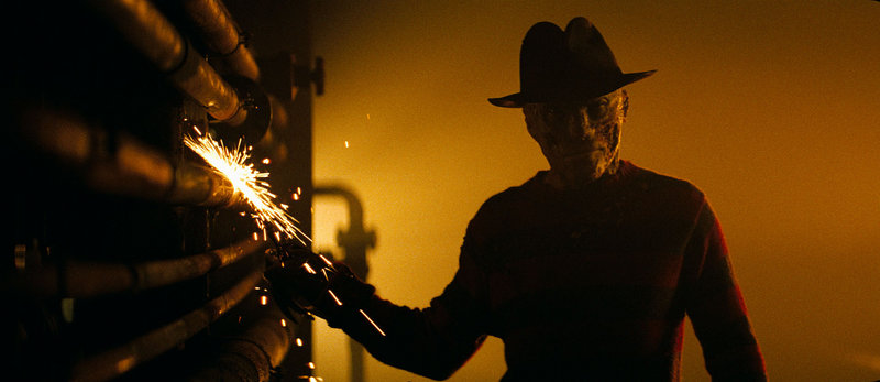 Jackie Earle Haley portrays the serial killer Freddy Krueger in