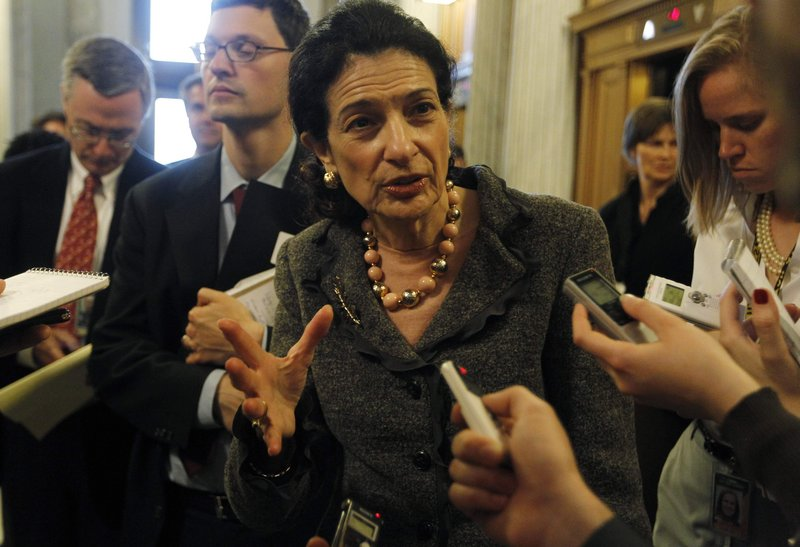Sen. Olympia Snowe, R-Maine, says Monday's vote on debating financial reform was premature. She cited the need to address concerns about two provisions: community banking restrictions and a bailout fund.