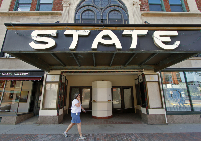 The State Theatre at 609 Congress St. in Portland has been closed since 2006. It will seat about 1,450 people on the main floor and in the balcony.