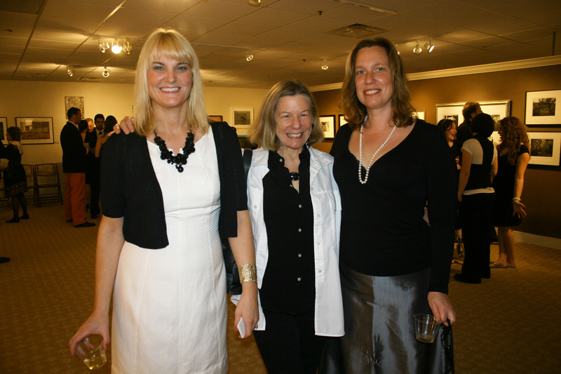 Museum of Photographic Arts founders Elizabeth Moss, who owns Elizabeth Moss Galleries; Anne Zill, who serves as the director of UNE's Art Gallery; and Denise Froehlich, a fine-art photographer.