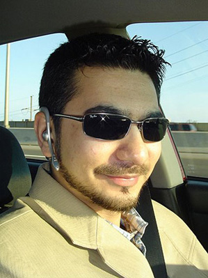 Faisal Shahzad is shown in this photo from the social networking site Orkut.com. Federal officials say he has confessed to parking the bomb-laden SUV in Times Square.