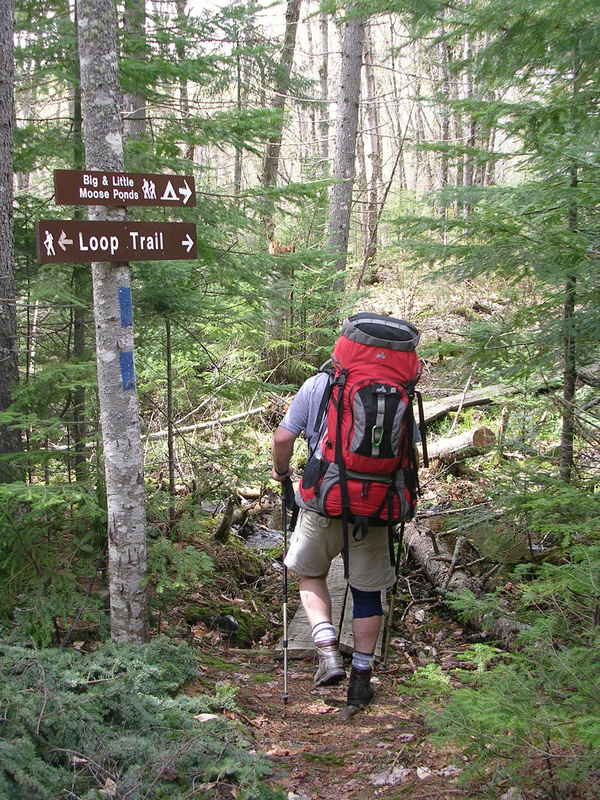 It's a short hike to both Big Moose and Little Moose ponds – but you'll feel like you're away from it all nonetheless.