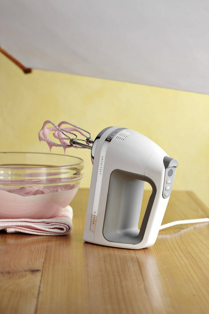 Kitchenaid's Architect 9-speed hand mixer with digital controls, swivel cord and sensor that maintains speed.