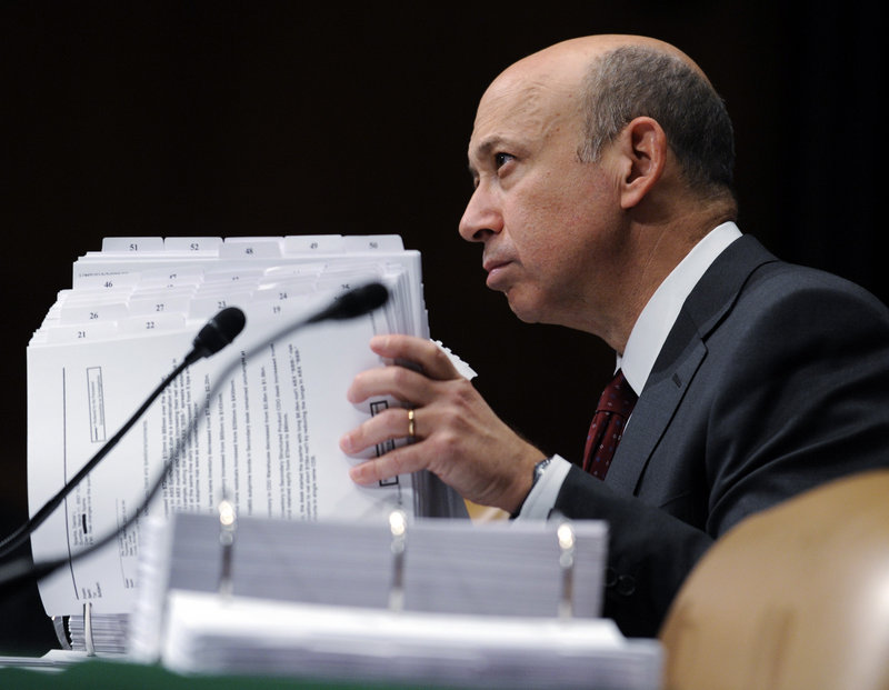 Goldman Sachs CEO Lloyd Blankfein, already facing civil fraud charges over mortgage securities deals Goldman arranged, now faces a criminal investigation into his firm's actions.