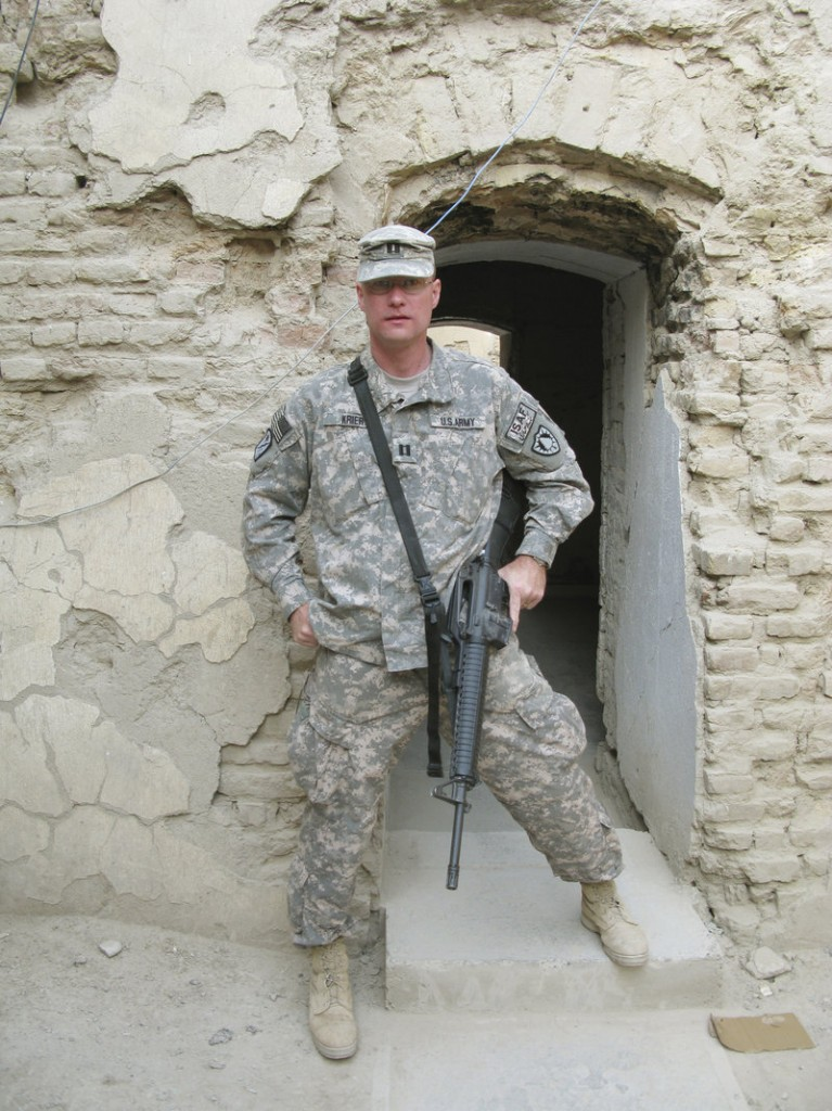 Don Krier is a lieutenant with the Portland police. It took seven years and two waivers, but he was eventually allowed to return to military service and deploy to Afghanistan.