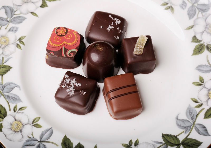 There's always chocolate. Black Dinah Chocolatiers' decadent sweets are being sold at LeRoux Kitchen in Portland.