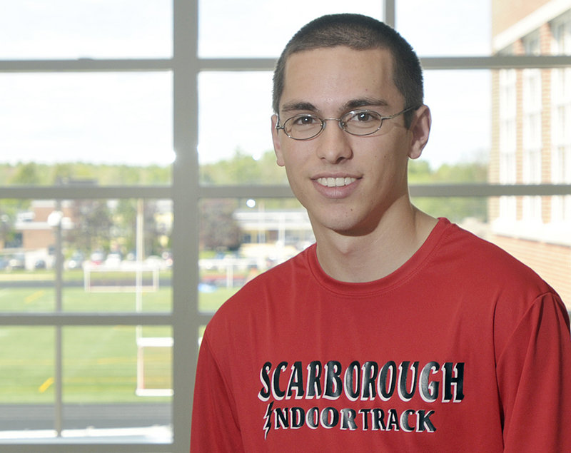 Sean Griffin, a Scarborough High senior, is combining his love of track and love of volunteerism to put on the Key to the Community 5K on May 30. He hopes for 75 runners.