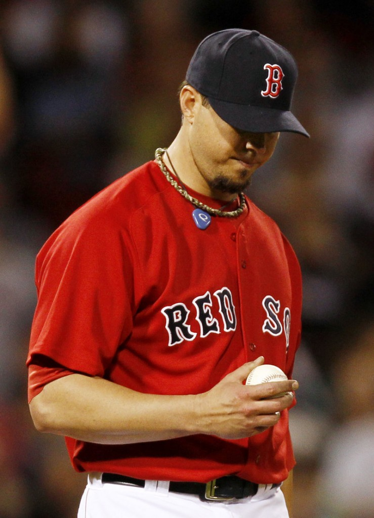 The ball just wouldn't do what Boston starter Josh Beckett wanted Friday night. The result? Yankees, 10-3.