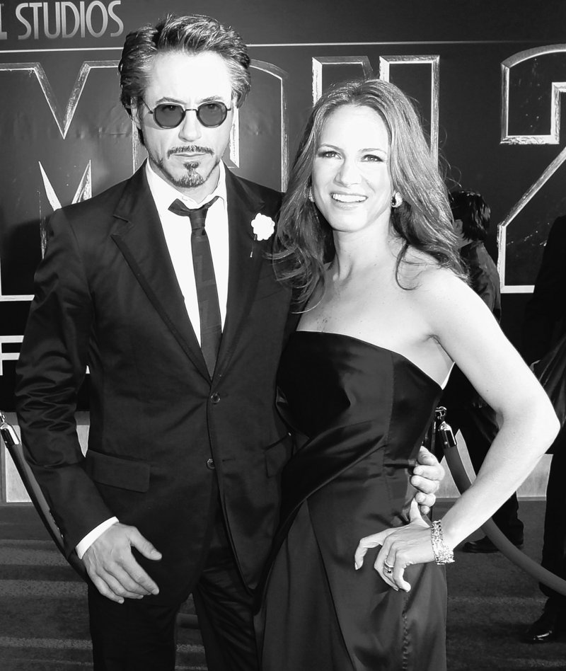 """Actor Robert Downey Jr. and executive producer Susan Downey arrive for the world premiere of """"Iron Man 2"""" at El Capitan Theatre in Los Angeles on April 26. The sequel easily surpassed the box-office opening of the original in 2008."""