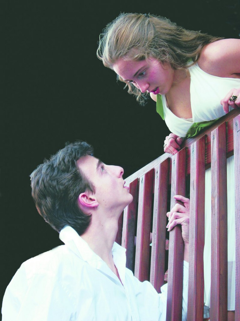 """Benedetto Robinson and Grania Power in """"Romeo and Juliet"""""""