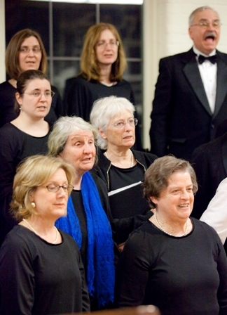 """The chorale will be joined for """"Jonah and Whale"""" by Daniel Cole, above, and Timothy Neill Johnson."""