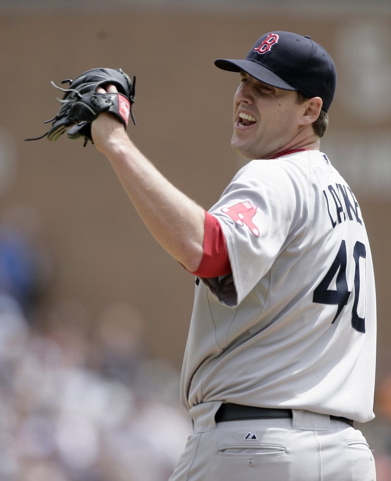 John Lackey lasted seven innings Sunday, but he gave up nine hits and five runs in a 5-1 loss to the Tigers.