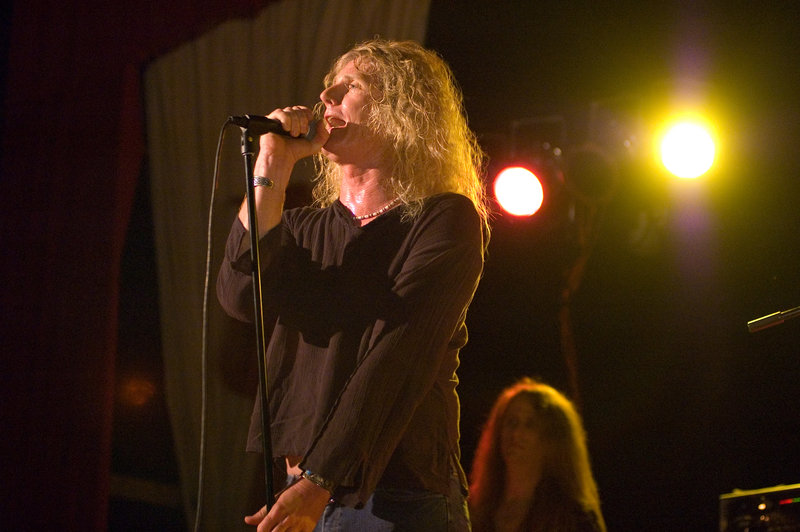 Matt Jernigan portrays Robert Plant in the Led Zeppelin tribute band Zoso, which is playing in Portland tonight.