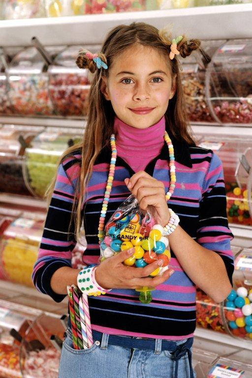 The first stop was Dylan's Candy Bar, with three floors of sweets. It merited a second stop later on.