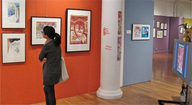 Comics fans of all ages can lose themselves in the Museum of Comic & Cartoon Art.
