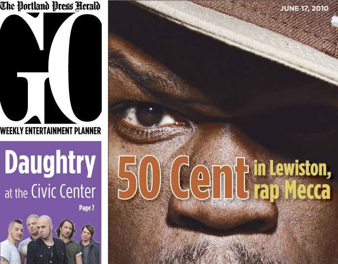 Go Cover: 50 Cent in Lewiston