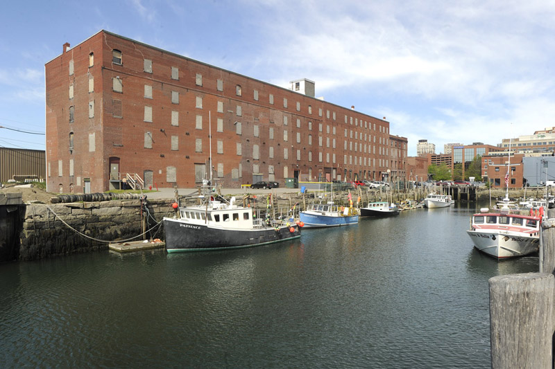 Waterfront Maine, the company that owns the Cumberland Self Storage building which juts into Portland Harbor, has proposed turning the former Cumberland Cold Storage into an office building, which would become the headquarters for Pierce Atwood, Portland's biggest law firm.