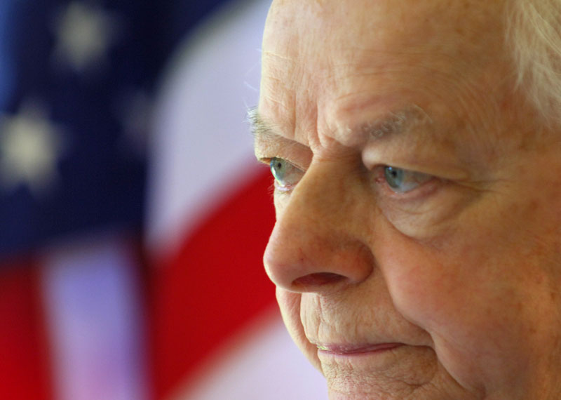 Sen. Robert C. Byrd, D-W.Va., a fiery orator versed in the classics and a hard-charging power broker who steered billions of federal dollars to the state of his Depression-era upbringing.