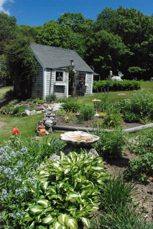 The Wood family's garden in Orland will be featured Friday as part of the Belfast Garden Club's Open Garden Days.