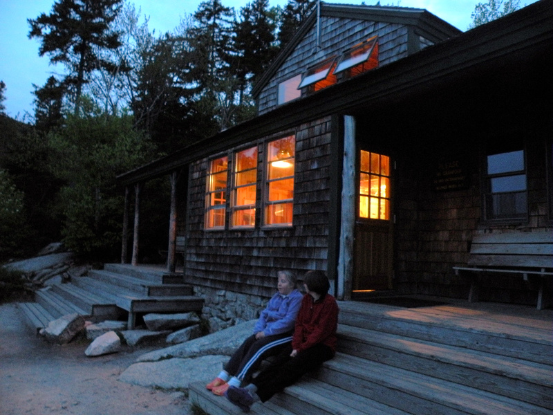 Visitors to the Zealand Falls Hut in the White Mountain National Forest can enjoy the most easily accessible hut in the Appalachian Mountain Club system, as well as beautiful views and family-style meals with other guests.