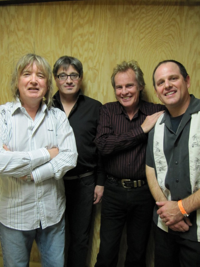 Blues band Savoy Brown performs at One Longfellow Square in Portland Friday night.