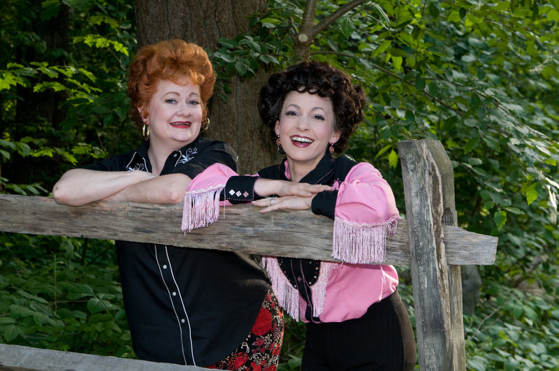 """Charis Leos and Jenny Lee Stern in """"Always ... Patsy Cline"""""""