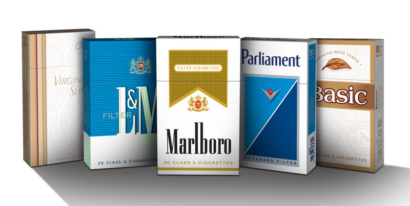 The U.S. Food and Drug Administration says by the end of June, cigarette packs no longer can feature names such as