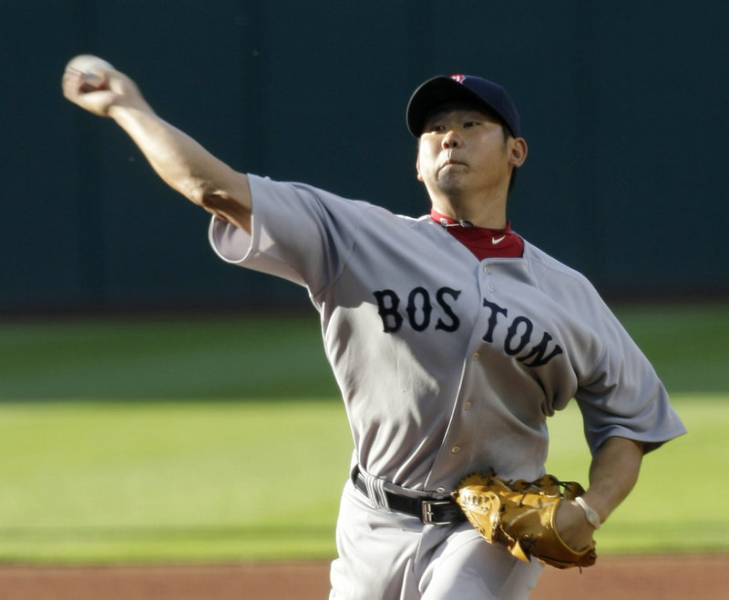Daisuke Matsuzaka extended his scoreless inning streak in Cleveland to 15 in Boston's 4-1 win at Cleveland Monday. It was Matsuzaka's 150th career win, including 108 in Japan.