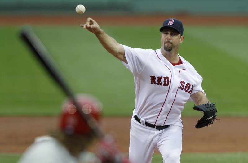 Red Sox pitcher Tim Wakefield became the third active pitcher to reach 3,000 innings on Sunday.