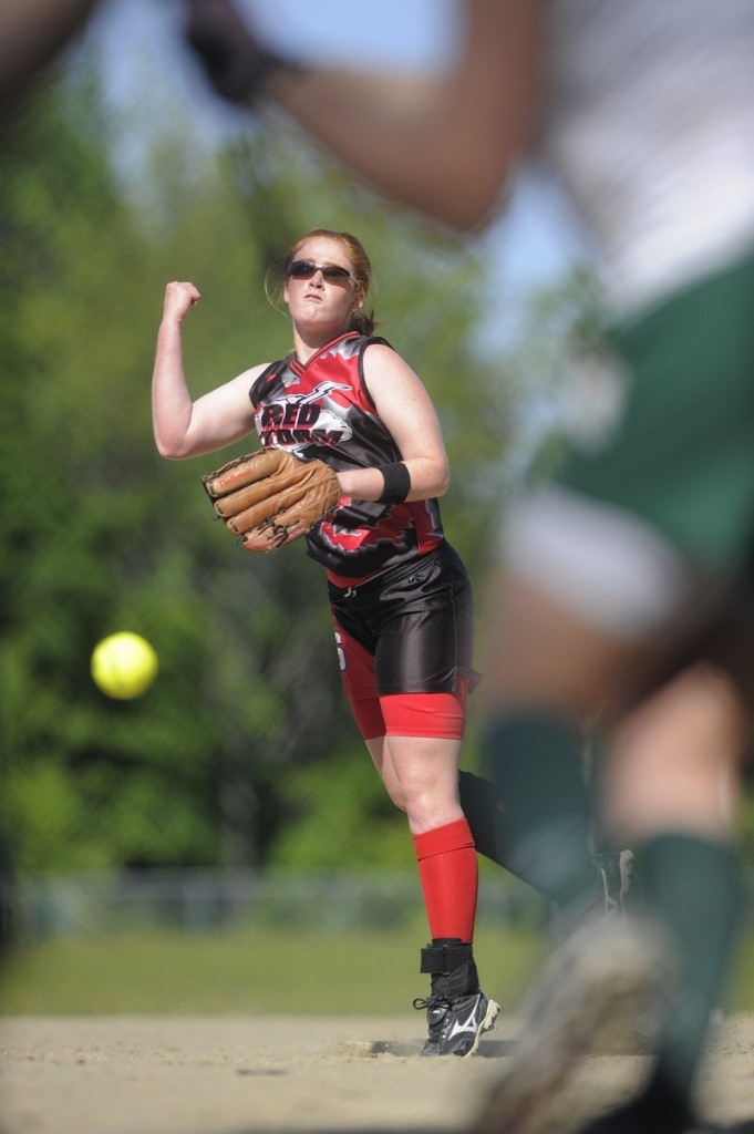 Mo Hannon and her Scarborough teammates will try to move a step closer to a second straight Class A softball state championship when they face South Portland today in the Western Maine final.