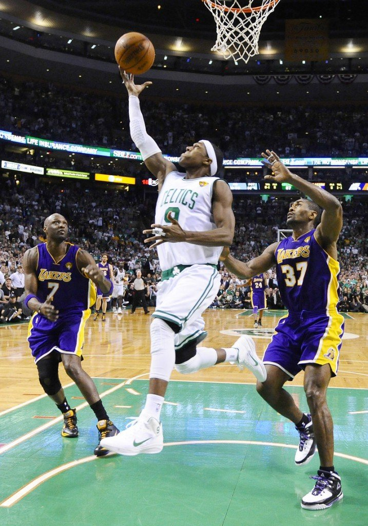 """Rajon Rondo and the Celtics hold a 3-2 series lead over the Lakers heading into Game 6 tonight in Los Angeles. Rondo admits that winning the title in Los Angeles would be """"something special."""""""