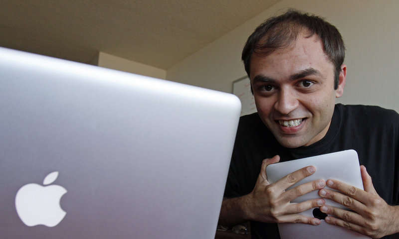 Mel Sampat, a former Microsoft employee, came up with the idea of creating an online dating service centered on a love of Apple products during an argument with his girlfriend.