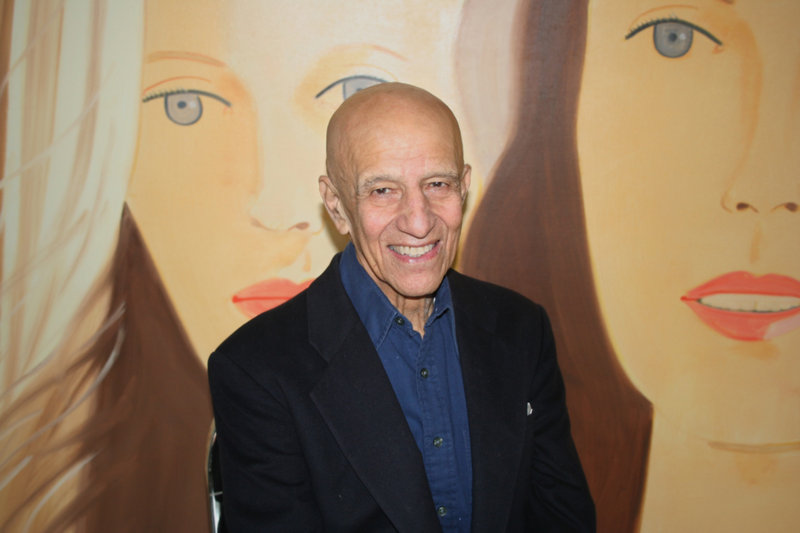Alex Katz will be in Rockland on Saturday to receive the 2010 Maine in America award from the Farnsworth Art Museum.