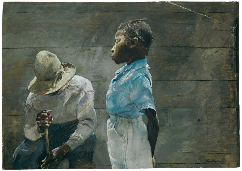 """""""Granddaughter"""" by Andrew Wyeth"""