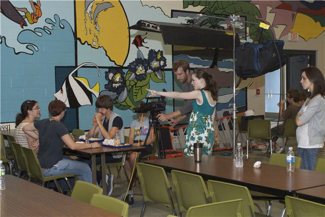 Project Aware holds workshops at Maine schools and produces public service announcements and educational feature films at its Summer Film Institute.