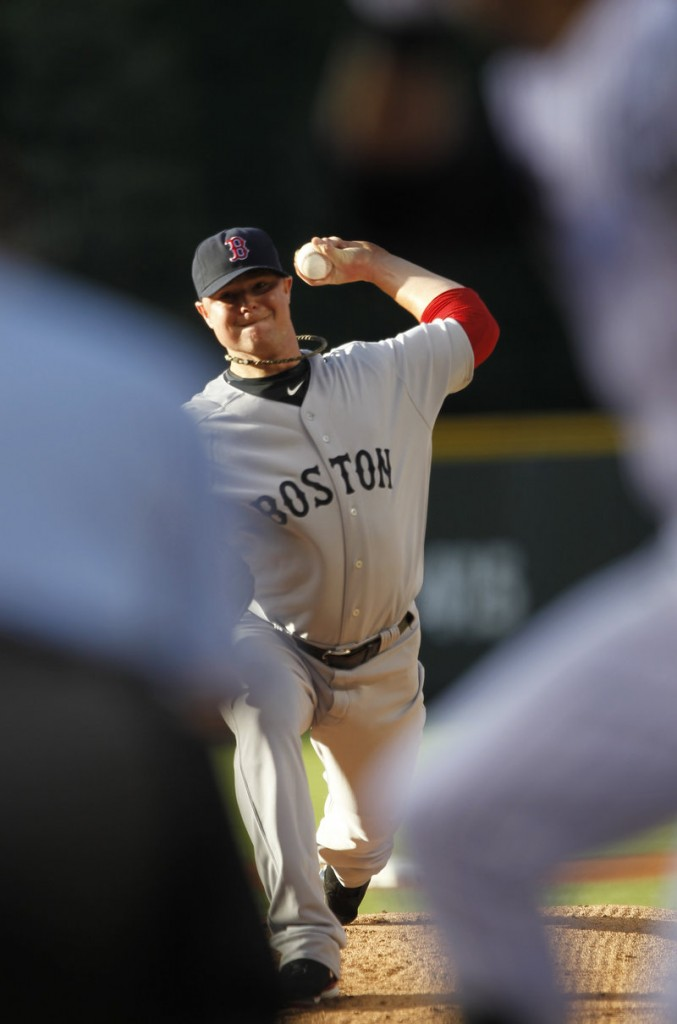 Jon Lester had his personal eight-game winning streak for the Boston Red Sox snapped Tuesday night, but still allowed just one earned run in six innings of a 2-1 loss at Colorado.