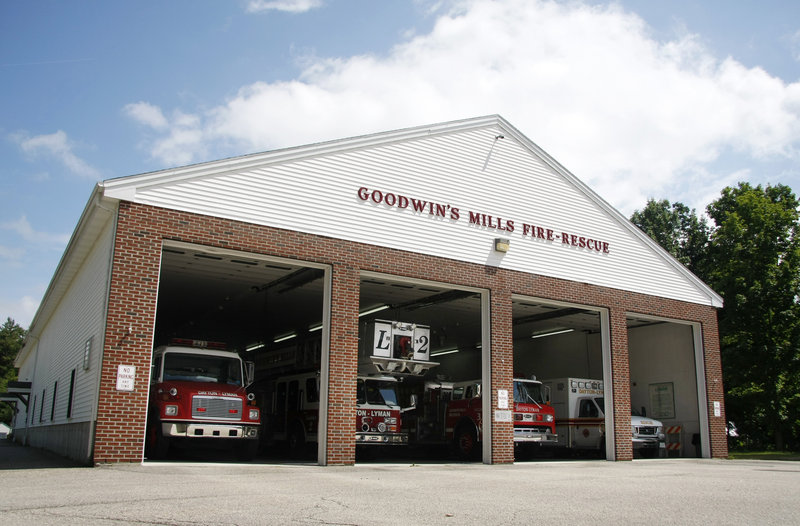 Goodwin's Mills plans to renovate and add to its fire station using $879,000 in federal stimulus funds and $100,000 in local money.