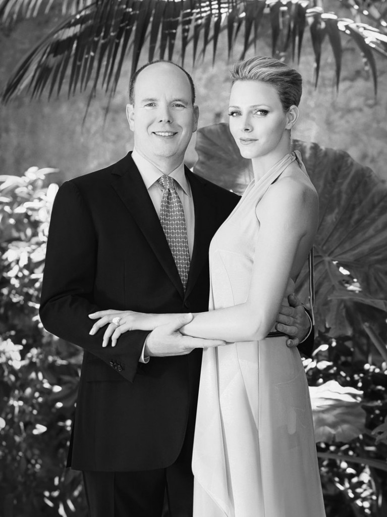 Prince Albert, 52, of Monaco and South Africa's Charlene Wittstock, 32, a former swim champion, announced their engagement on Wednesday.