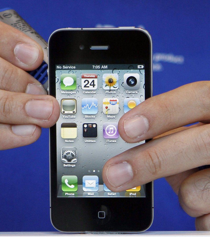 Apple's iPhone 4 elicited about 10 times as many pre-orders as the iPhone 3GS did last year.