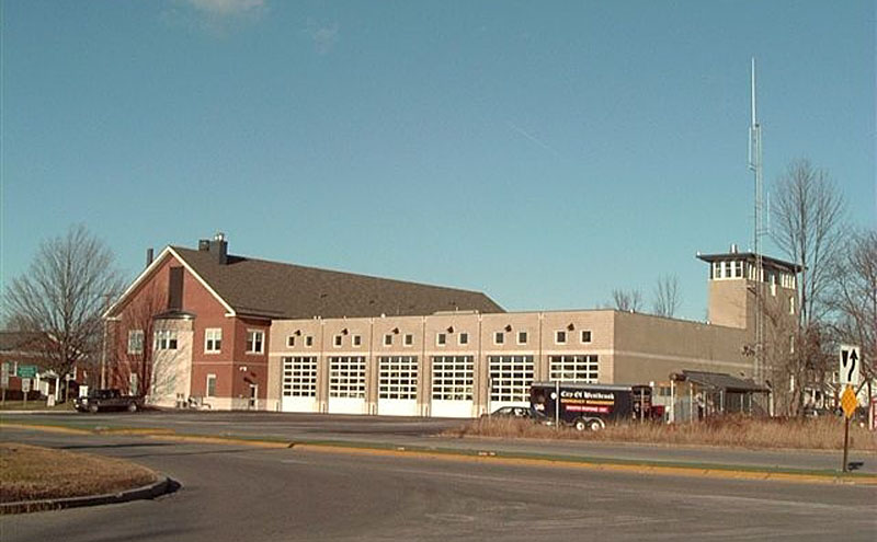 Screen capture from the city of Westbrook website shows the Westbrook Fire-Rescue Station 1 at 570 Main St.