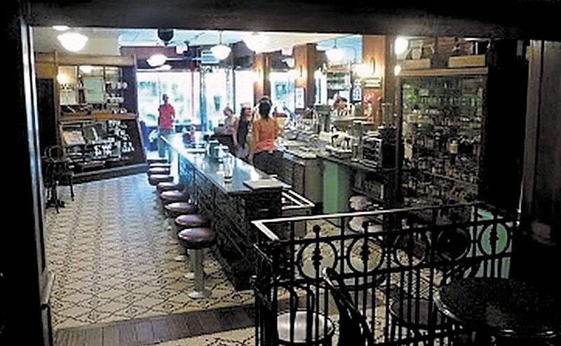Athen's Peter Freeman is having his Brooklyn Farmacy & Soda Fountain featured on the Discovery Channel.
