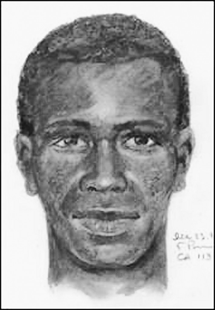 This LAPD sketch shows a suspect in the killings of at least 10 people since 1985.